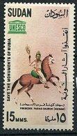 (cl.18 - P31)  Soudan ** N° 162 (ref. Michel Au Dos) - Monument De Nubie. Le Roi Mage à Cheval - - Soudan (1954-...)
