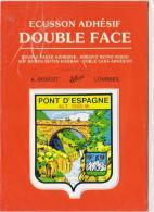D65  LOURDES  Pont D' Espagne   ..... ( Blason Adhésif ) - Lourdes