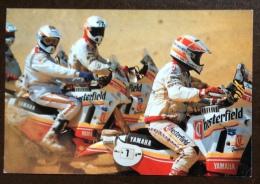 MOTOCICLISMO - YAMAHA - CHESTERFIELD SCOUT - CARTOLINA PUBBLICITARIA VIAGGIATA - Sport Moto