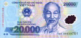 Vietnam 20000 Dong 2006 Pick 120 UNC - Vietnam