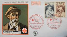 ENVELOPPE 1er JOUR 1965 - Croix-Rouge Et La Poste - Strasbourg Le 11.12.1965 - Parfait état - - 1960-1969