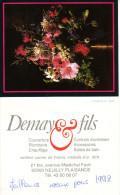 NEUILLY PLAISANCE  Calendrier 1992 - Calendari