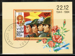 VN 1984 MI BL 32  USED - Viêt-Nam