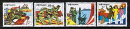 VN 1985 MI 1554-57 USED - Vietnam