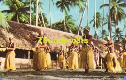 CPSM TAHITI TAMURE DANCERS AT BORA BORA - Tahiti