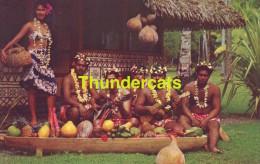 CPSM  TAHITI TAHITIAN FEAST - Tahiti
