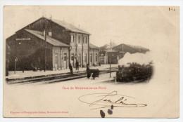 MOURMELON LE PETIT (51) - LA GARE - TRAIN - France