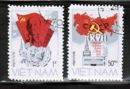 VN 1986 MI 1661-62  USED - Vietnam