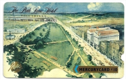 UK (Mercury) - Park Lane Hotel (Deep Notch), 20MERE - MER088A, Used, Rare! - United Kingdom