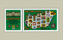 Hungary 1982. Agrofila Exhibition Segmental Stamp MNH (**) Michel: 3575 / 1.50 EUR - Ungarn