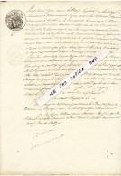 Lettre Authentique - Document Daté De 1850 -  Litige De Copropriété Pour Un Etang Situé à LOCMARIAQUER (56) - Vieux Papiers