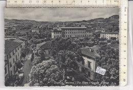 PO1314D# PISA - BAGNI DI CASCIANA - VIA ROMA E GRANDE ALBERGO  VG 1956 - Pisa