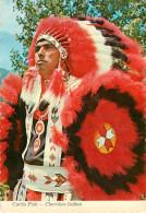 Indiens De L´Amérique Du Nord - Curtis Fish - Cherokee Indian - Semi Moderne Grand Format - état - Indiens De L'Amerique Du Nord