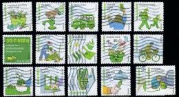 Etats-Unis / United States (Scott No.4524a-p - Allons Vert / Go Grenn) (o) Série / Set (TS) - Verenigde Staten