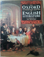 064  THE OXFORD ILLUSTRADED HISTORY OF  ENGLISH LITERATURE - EDITED BY  PAT ROGERS  ++++++ - Non Classificati
