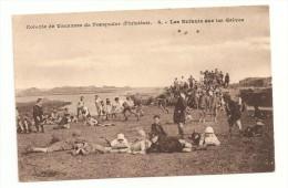 PORSPODER - Colonies De Vacances, Les Enfants Sur Les Grèves - France