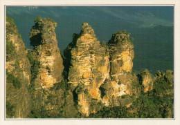 MONTAGNE  BLU:   VEDUTA        (NUOVA CON DESCRIZIONE DEL SITO SUL RETRO) - Australia