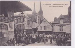 Quimper Vieilles Maisons De La Place Saint François Le Marché - Quimper