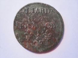 Louis XIV Liard De France 1656 I - 987-1789 Royal