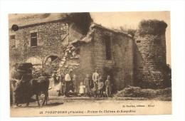 PORSPODER - Ruines Du Château De Kergadiou - France