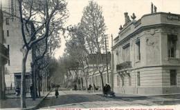 Perpignan - Avenue De La Gare Et Chambre De Commerce - Perpignan