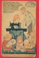 165690 / ADVERTISING - SCHUTZMARKE ,  Köhler - Nähmaschine , HERMANN KÖHLER NÄHMASCHINENFABRIK ALTENBURG S. A. - Publicité