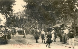 Perpignan - Marché Provisoire - Place Arago Et Rue Porte De L´Assaut - Perpignan
