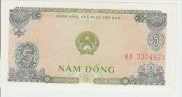 Vietnam 5 Dong 1976 Pick 81b AUNC - Vietnam