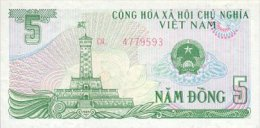 Vietnam 5 Dong 1985 Pick 92 UNC - Vietnam