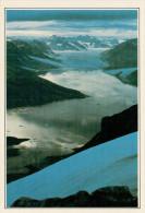 GROENLANDIA  ANGMAGSSALIK:  IL GHIACCIAIO DEL KARALES      (NUOVA CON DESCRIZIONE DEL SITO SUL RETRO) - Groenlandia