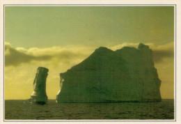 GROENLANDIA   DISKO:  ICEBERG  NELLA  BAIA      (NUOVA CON DESCRIZIONE DEL SITO SUL RETRO) - Groenlandia