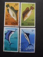 KENYA Série N°66 Au 69 Oblitéré - Timbres