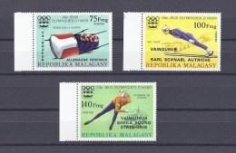 MADAGASCAR. Vainqueurs aux jeux olympiques d'hiver