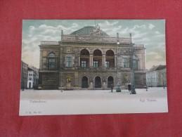 Denmark  Kobenhavn  Kgl Teater -----ref 1757 - Denmark