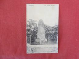 Denmark   Slangerup Monument  Stam P& Cancel ---ref 1757 - Denmark