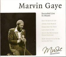 Recorded Live In Miami Marvin Gaye - Soul - R&B