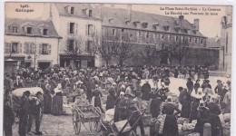 Quimper La Place Saint Mathieu La Caserne La Marché Aux Pommes De Terre - Quimper