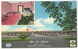 Bon Air Courts, Route U.S. 301, Allendale, South Carolina - Etats-Unis
