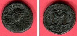 JUSTIN I NICOMEDUE FOLLIS ( S 88] TB 62 - Byzantines