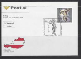ÖSTERREICH - FDC Mi-Nr. 2892 - Sakrale Kunst - FDC