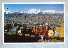 CPM - Bolivie - Ciudad De La Paz - Musicos Aymaras (Zamponaris) - Bolivie