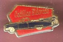 43307-Pin's.Cadillac.Eldorado.signé Parades Collection. Automobile... - Corvette
