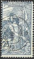 UPU 1900: Zu 79 A  Mi 73 (Type I) Yv 88, Mit O CHATEAU D´EUX 14.VII.00 (Zu CHF 65.00) - 1882-1906 Armoiries, Helvetia Debout & UPU