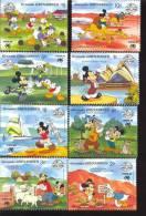 GRENADA  & GR  998-05 #  S-303   MINT NEVER HINGED SET OF STAMPS OF DISNEY - Disney