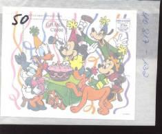 GHANA  1765  MINT NEVER HINGED SOUVENIR SHEET OF DISNEY   #  207-2 - Disney