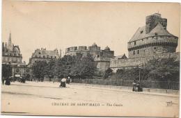 I2984 Saint Malo - Le Chateau Castillo Castello Castle Schloss / Non Viaggiata - Saint Malo