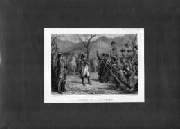 NAPOLEON  RETOUR DE L ' ILE D' ELBE- PAR PHILIPPOTEAUX - LALAISSE - IMPRIMEUR CHARDON AINE PARIS - FIN XIXE - Litografía