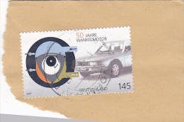 5969A  FEDERAL REPUBLIC GERMANIA 2007 USED FRAGMENT. - BRD