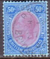 British Honduras 1923 SG #134 50c VF Used - British Honduras (...-1970)
