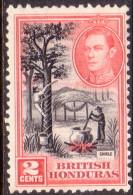British Honduras 1938 SG #151 2c VF Used - Britisch-Honduras (...-1970)